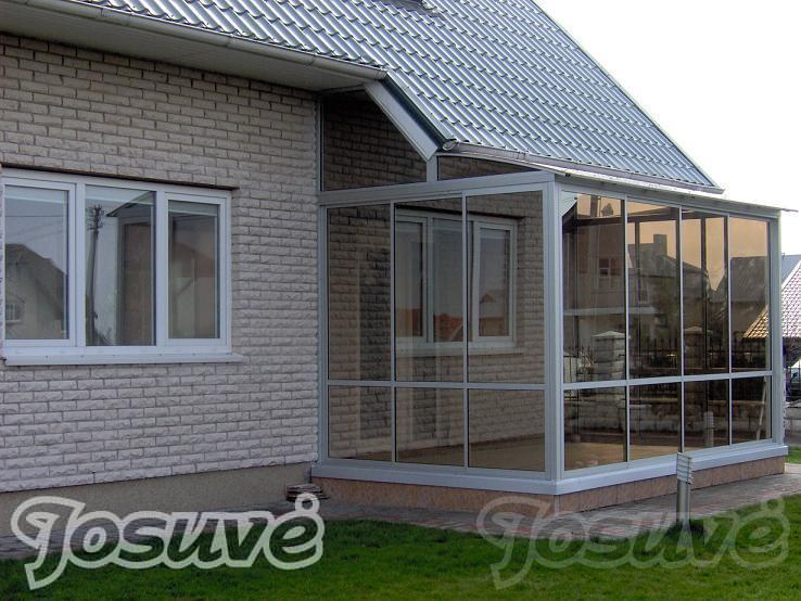 verandos stiklinimas, įrengimas